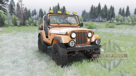 Jeep CJ-5 Renegade 1976 for Spin Tires