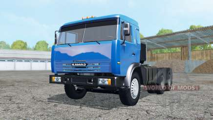 KamAZ 54115 blue for Farming Simulator 2015
