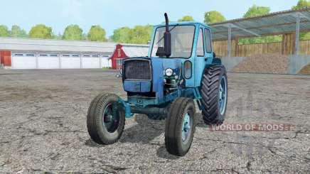 YUMZ-6L bright heavenly blue color for Farming Simulator 2015