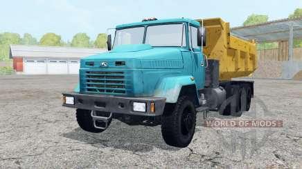 KrAZ-6510 blue color for Farming Simulator 2015