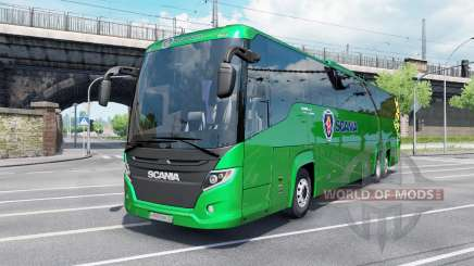 Scania Touring K410 malachite for Euro Truck Simulator 2