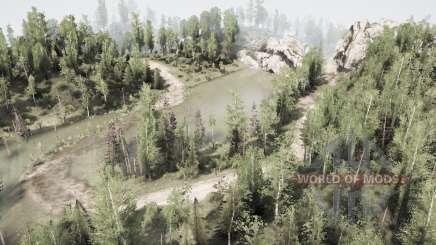 Miserable road for MudRunner