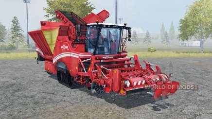 Grimme Maxtron 620 carmine pink for Farming Simulator 2013