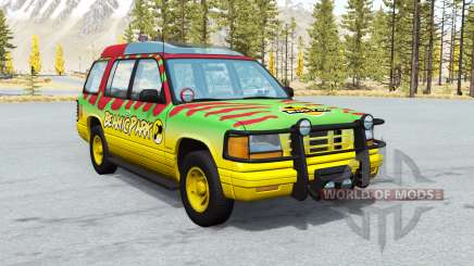 Gavril Roamer Tour Car Beamic Park v2.0.1 for BeamNG Drive