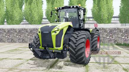 Claas Xerion 5000 Trac VC inch worm for Farming Simulator 2017