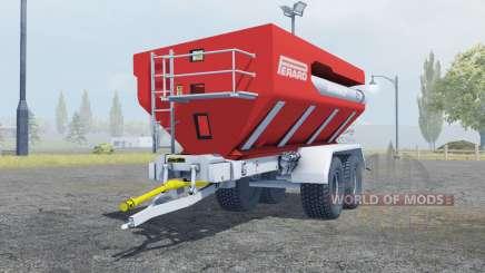 Perard Interbenne 25 bright red for Farming Simulator 2013