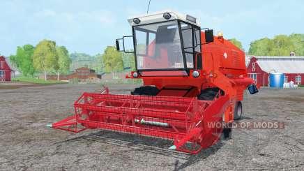 Bizon Z058 vivid red for Farming Simulator 2015