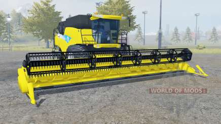 New Holland CR9090 safety yellow for Farming Simulator 2013