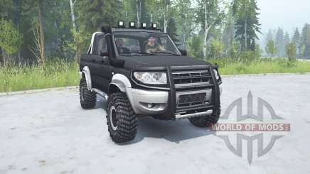 UAZ Patriot (23632) 2008 for MudRunner