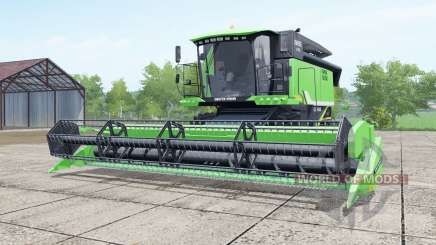 Deutz-Fahr 6095 HTS lime green for Farming Simulator 2017