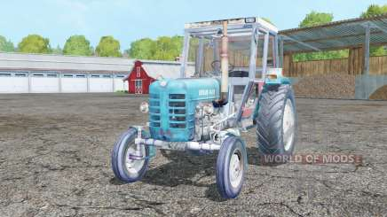 Ursus C-4011 real exhaust for Farming Simulator 2015