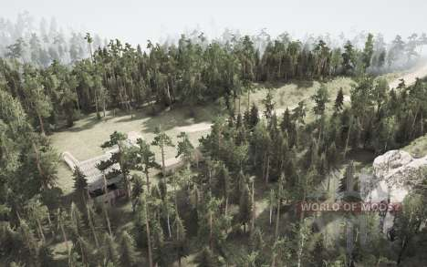 My map 5.3 for Spintires MudRunner