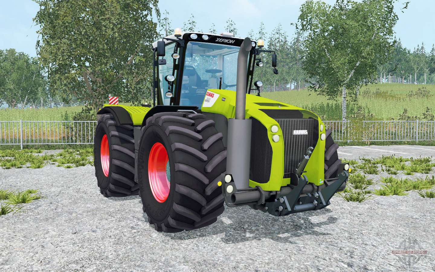 Claas Xerion 5000 Trac VC Movable Parts For Farming