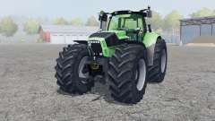 Deutz-Fahr Agrotron X 720 2012 front loader for Farming Simulator 2013