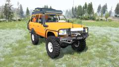 Toyota Land Cruiser 60 for MudRunner