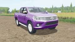 Toyota Hilux Double Cab 2015 for Farming Simulator 2017
