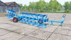 Lemken Titan 11 dynamic hoses for Farming Simulator 2017