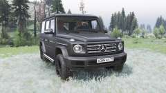 Mercedes-Benz G 500 (Br.463) 2018 for Spin Tires