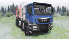 MAN TGS 41.480 2012 for Spin Tires