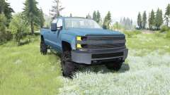 Chevrolet Silverado 3500 HD Crew Cab 2015 for MudRunner