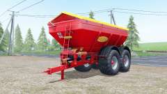Bredal K165 increases spread for Farming Simulator 2017