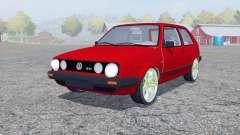 Volkswagen Golf GTI for Farming Simulator 2013