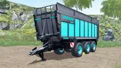 Joskin Drakkar 8600 blue and black for Farming Simulator 2017