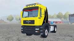 MAN TGM 4x4 tractor for Farming Simulator 2013