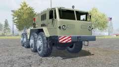 MAZ-537 8x8 for Farming Simulator 2013