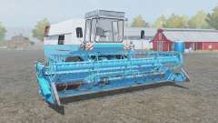 Fortschritt E 516 with headers for Farming Simulator 2013