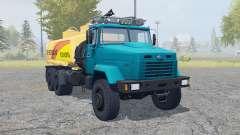 The KrAZ-6322 truck for Farming Simulator 2013