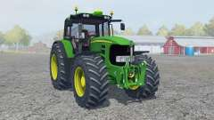 John Deere 7530 Premium moving elements for Farming Simulator 2013