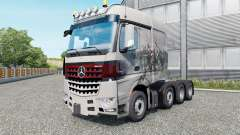Mercedes-Benz Arocs 4158 SLT 2013 v1.5.5 for Euro Truck Simulator 2