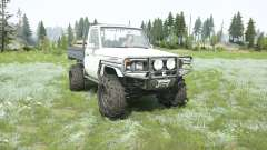 Toyota Land Cruiser cab chassis J79 1999 for MudRunner