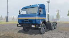 KamAZ-54115 dark blue color for Farming Simulator 2013