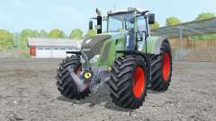 Fendt 828 Vario double wheels for Farming Simulator 2015