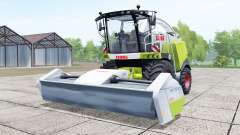 Claas Jaguar 940 with headers for Farming Simulator 2017