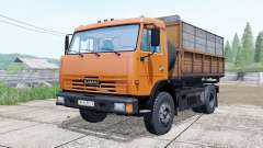 KamAZ-43255 orange color for Farming Simulator 2017