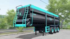 Krampe Sattel-Bandit 30-60 blue and black for Farming Simulator 2017
