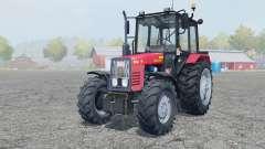 MTZ-Belarus 820.4 manual ignition for Farming Simulator 2013