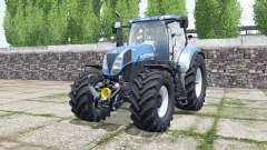 New Hollanɗ T7.185 for Farming Simulator 2017