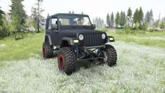 Jeep Wrangler (TJ) 2006 lifted for MudRunner