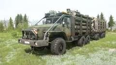 Ural-4320-10 6x6 for MudRunner