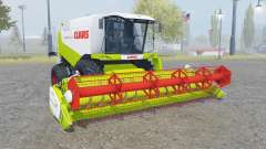 Claas Lexion 550 with headers for Farming Simulator 2013