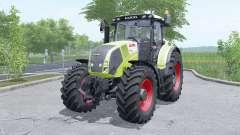 Claas Axion 810 wheels selection for Farming Simulator 2017