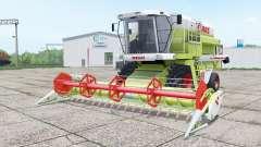 Claas Dominator 208 Mega and C 600 for Farming Simulator 2017