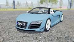 Audi R8 GT Spyder 2011 for Farming Simulator 2013