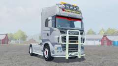 Scania R560 Highline gray for Farming Simulator 2013