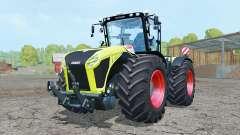 Claas Xerion 5000 Trac VC bitter lemon for Farming Simulator 2015