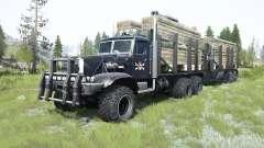 KrAZ-255Б1 custom for MudRunner